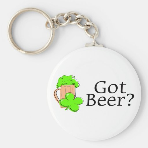 Got Beer Basic Round Button Keychain