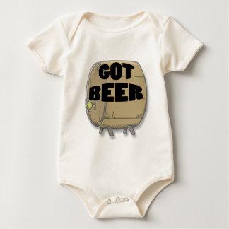 Got Beer black Baby Bodysuit
