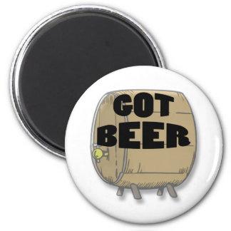 Got Beer black Magnets