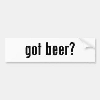 got beer? bumper stickers