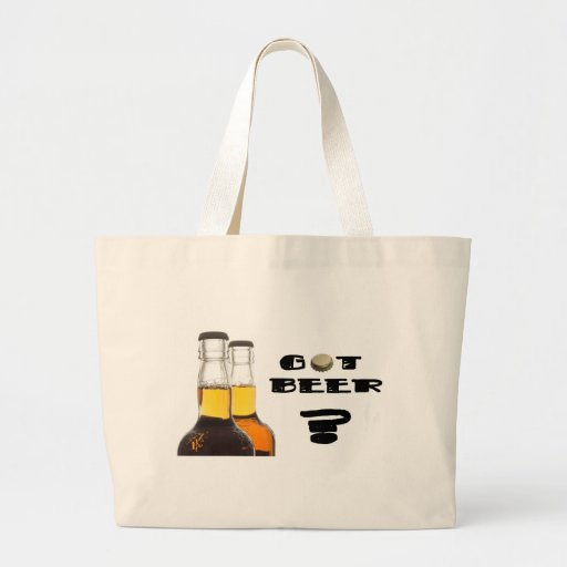 Got Beer? Carry your Brews in Beer Style Tote Bags