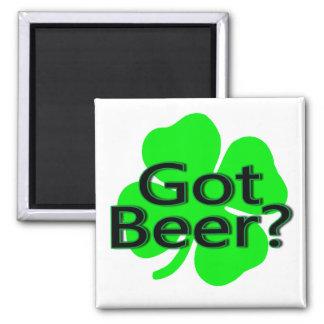 Got Beer Clover Refrigerator Magnet