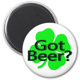 Got Beer Clover Fridge Magnets