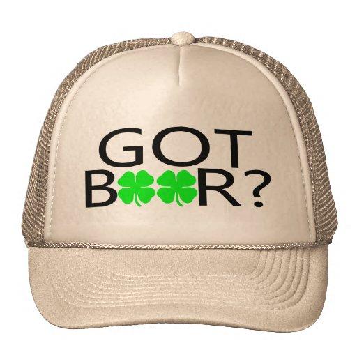 Got Beer Clovers Trucker Hat