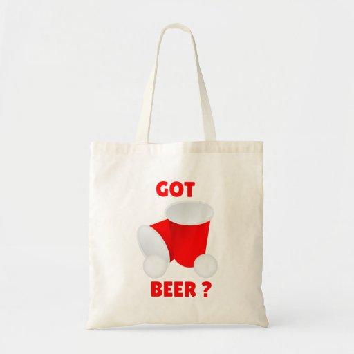 Got Beer? Fabric Bag / Grocery Sack