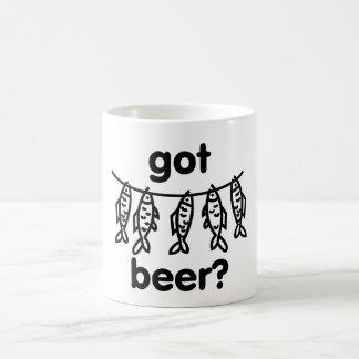 got beer fish coffee mug