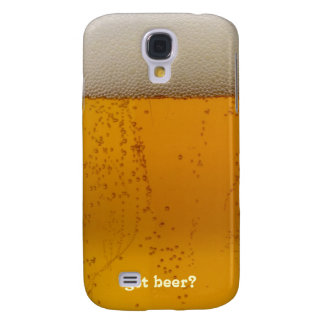 Got Beer? Funny Beer themed Galaxy S4 Case