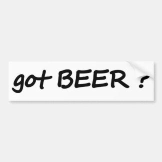 got beer icon bumper sticker