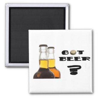 Got Beer? magnet
