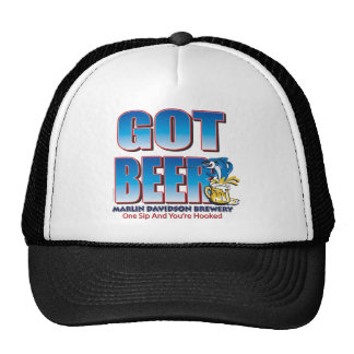 Got Beer Marlin Davidsons Trucker Hat