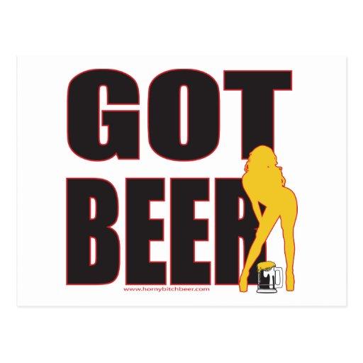 GOT-BEER POSTCARDS