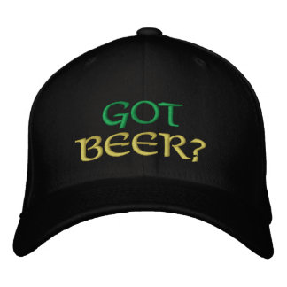 Got Beer? St. Patricks Embroiderd Cap
