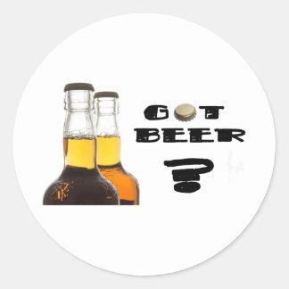 Got Beer? Round Stickers