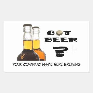 Got Beer? Stickers