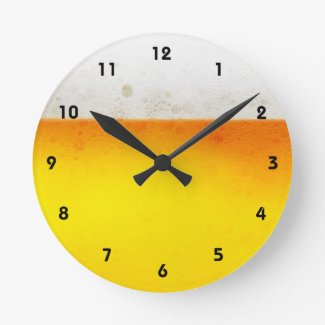 Got Beer Wall Clock