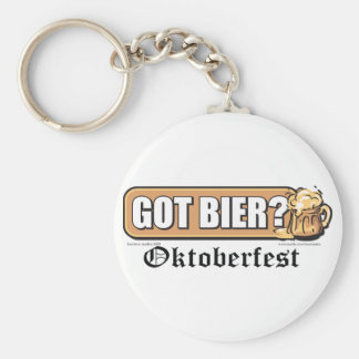 Got Bier - Basic Round Button Keychain
