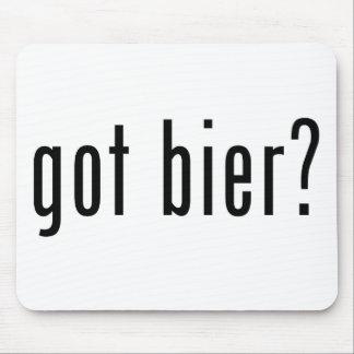 got bier? mouse pad