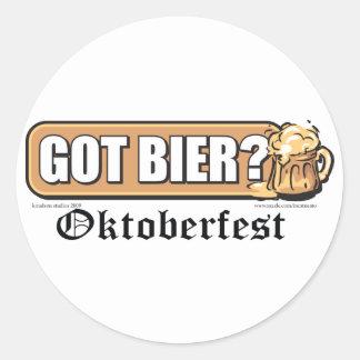 Got Bier - Round Sticker