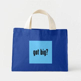 got big? canvas bags