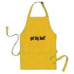 got big bud? adult apron