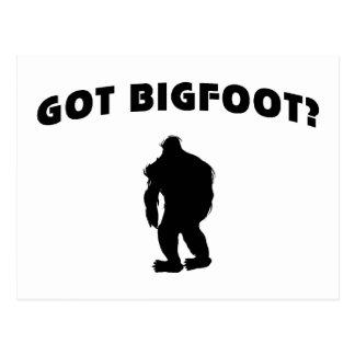 Got BigFoot? Postcard