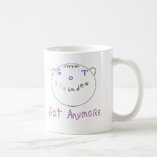 Got bin laden classic white coffee mug
