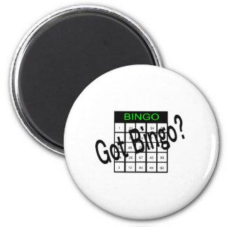 Got Bingo? 2 Inch Round Magnet