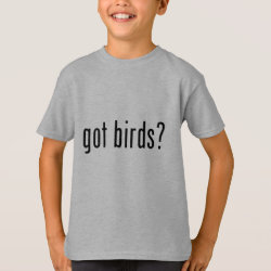 Kids' Hanes TAGLESS® T-Shirt with got birds? design