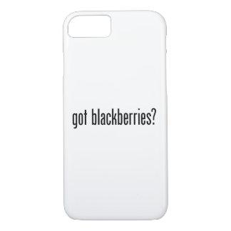 got blackberries iPhone 8/7 case