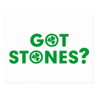 Got Blarney Stones Postcard