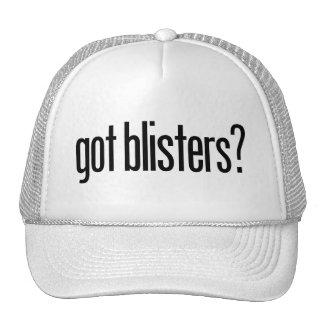 got blisters? trucker hat
