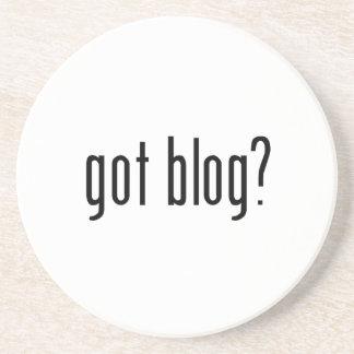 got blog? drink coaster