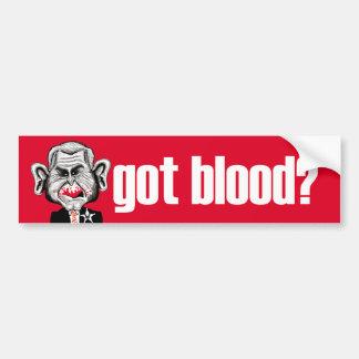 Got Blood? Bumpersticker Car Bumper Sticker