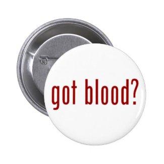 got blood? button