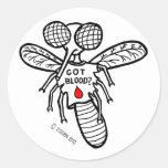 Got Blood? Classic Round Sticker