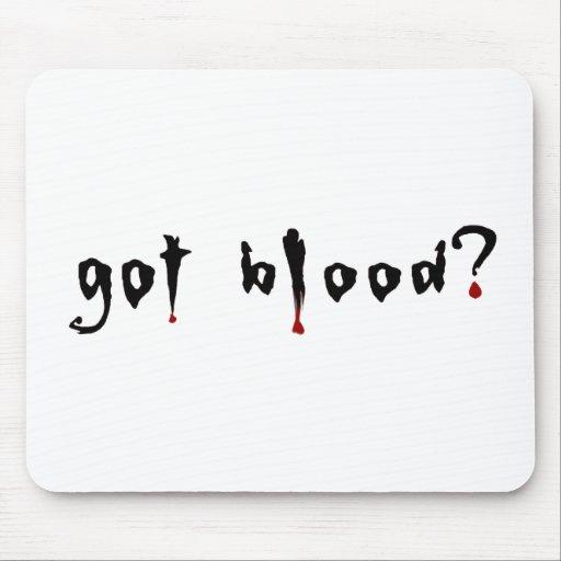 got blood? mousepads