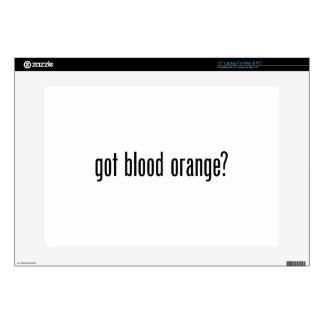 got blood orange laptop decal