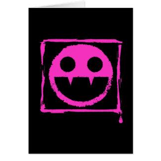 got blud smily ded girl vamp Smily n' Fangs!! Card