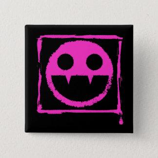 got blud smily ded girl vamp Smily n' Fangs!! Pinback Button