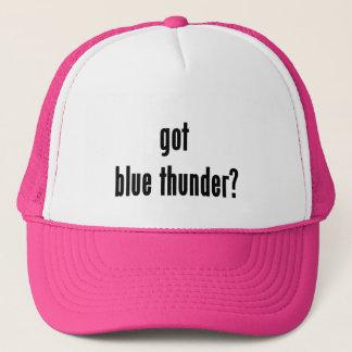 got blue thunder? trucker hat