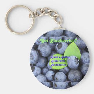 Got Blueberries? Keychain