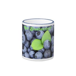 Got Blueberries? Ringer Mug