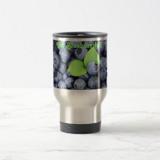 Got Blueberries? Travel Mug