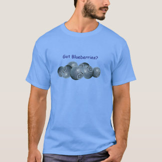 Got Blueberries? Vaccinium ovalifolium T-Shirt