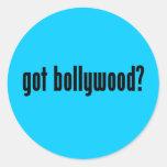 got bollywood? round sticker