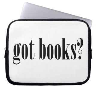 Got Books? Laptop Sleeves
