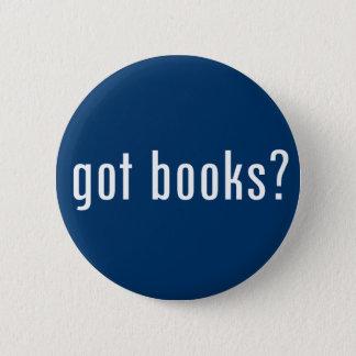 got books? pinback button