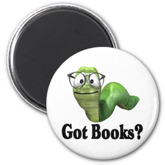 Got Books T-shirts and Gifts. 2 Inch Round Magnet
