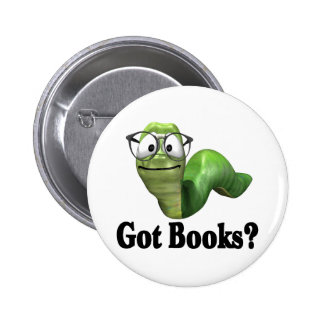 Got Books T-shirts and Gifts. Pinback Button