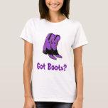 Got Boots? Ann Charles' Deadwood T-shirt